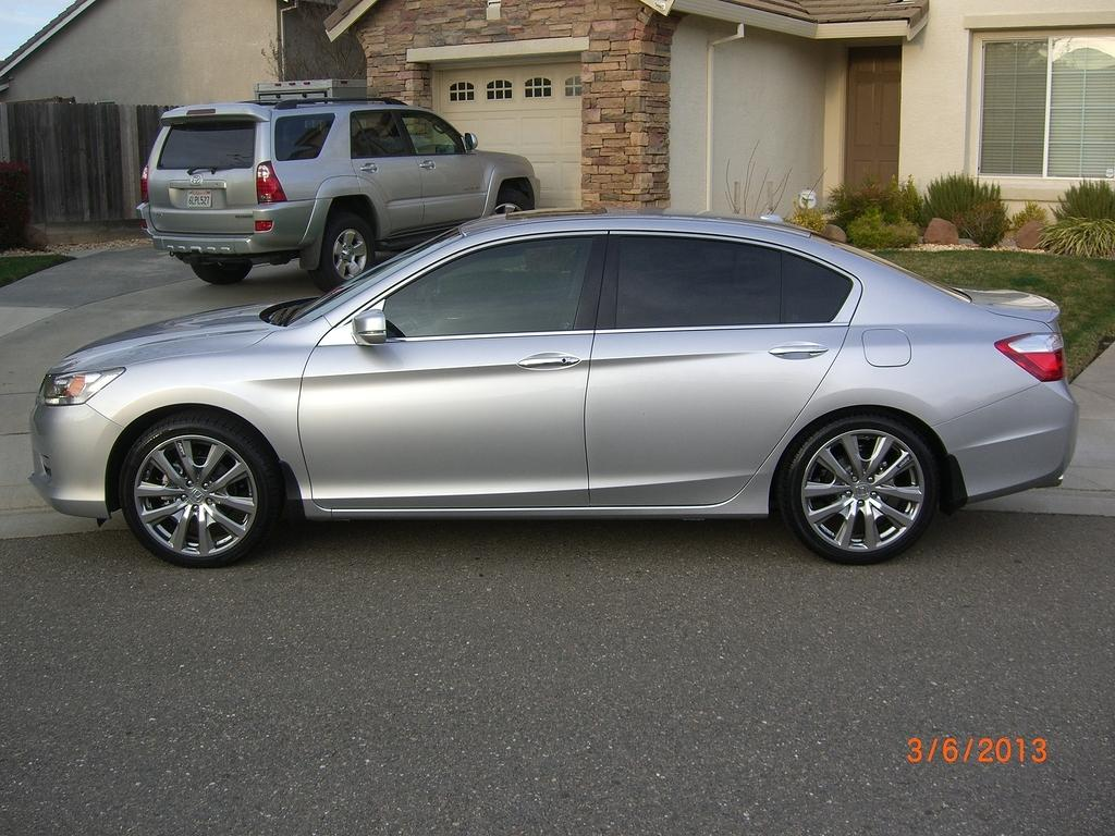 2013 Accord Touring + Alabaster Silver + HFP's + Tint ...