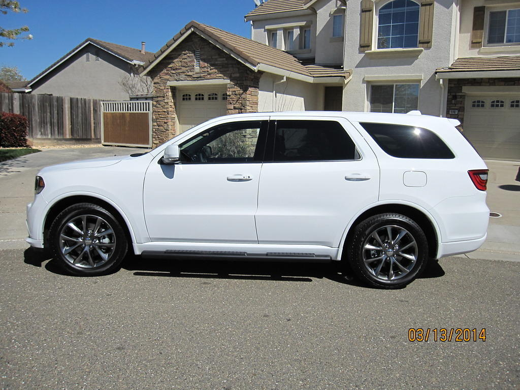Bought a new 2014 Durango RT in Bright White