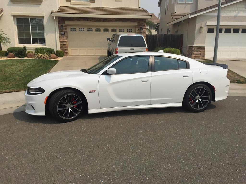 2 Door Charger Hellcat >> Just got my new 2015 Charger Scat Pack in Ivory White Pearl
