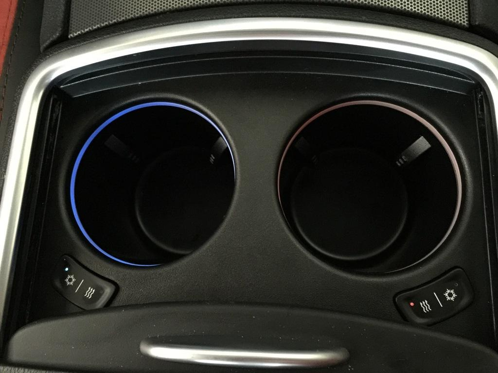 Adding Heated and Cooled Cupholders with working Red/Blue ...